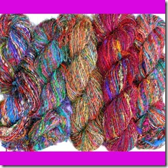 Sari-Silk Yarn from E_Bay