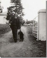 1936 Jim Kenny on way to Lisdoonvarna