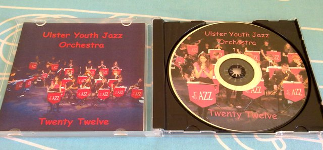 Ulster Youth Jazz Orchestra Twenty Twelve CD