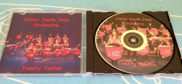 Ulster Youth Jazz Orchestra Twenty Twelve CD