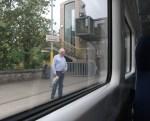 He didn't get on board!