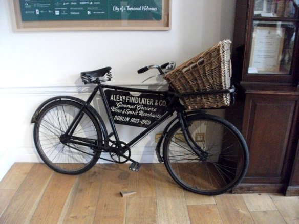 Finlater's Bicycle for delivering the orders