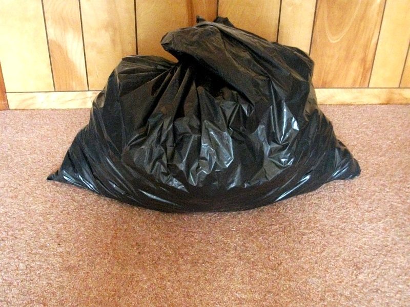 A Black sack