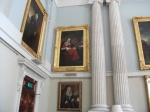 Some of the paintings in the dining hall