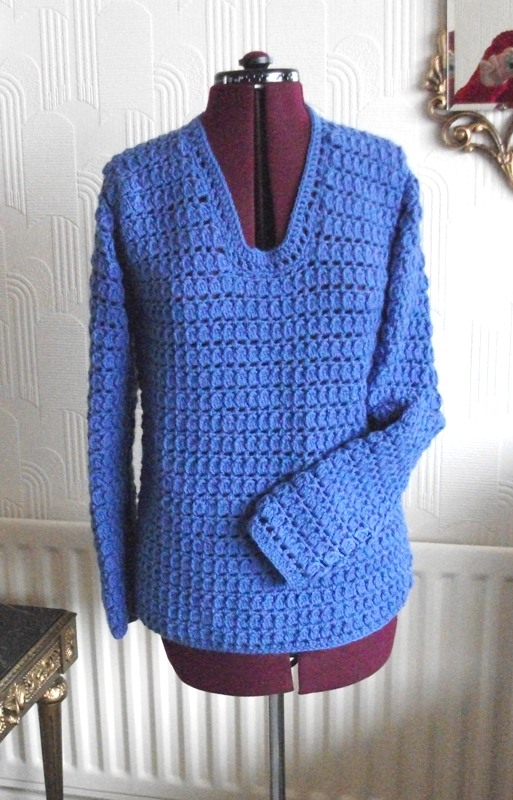 Blue jumper_front