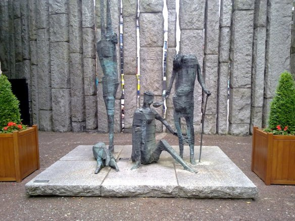Hungry Heart Famine memorial  ~Edward Delaney