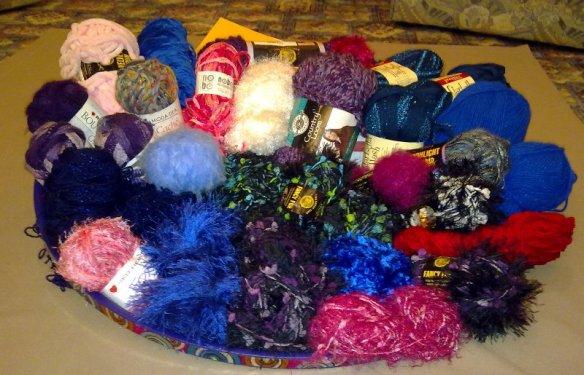 Glorious yarn gift.