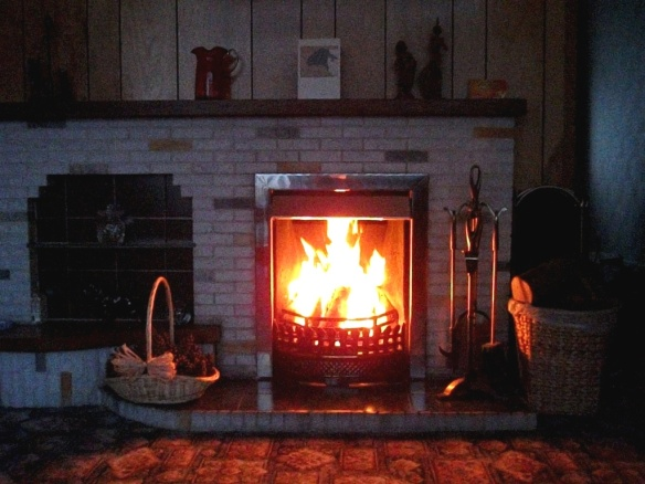 My cosy log fire